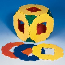 Polydron Octagon with Hole Set of 10