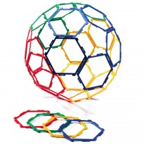 Polydron Frameworks Hexagons Set of 30