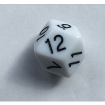 Truncated Rhombic Twelve Sided Die - D12