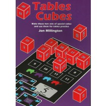 Tables Cubes: Make These Two Sets of Special Cubes and Use Them for Tables Practice
