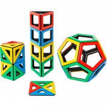 Magnetic Polydron New Shapes Set (48 pieces)