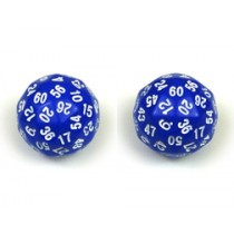 Deltoidal Sixty Sided Die - D60 Set of 2