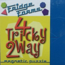 4 Tricky 2 Way - Magnetic Tessellation Puzzle