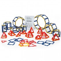 Polydron Frameworks Prism & Pyramid Set (121 pieces)