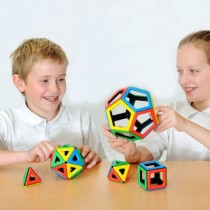 Polydron Magnetic Platonic Solids Set 50Pces
