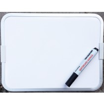 Easy Wipe Magnetic Double Sided Whiteboard and Dry Erase Marker