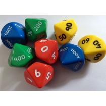 Standard Place Value Dice