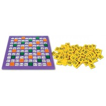 SimFit Hundreds Grid Board (with Tiles and for use with 2cm Cubes)