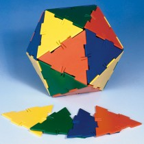 Polydron Frameworks Large Equilateral Triangles (Set of 60)