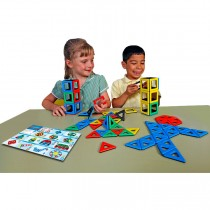 Magnetic Polydron Class Set (96 pieces)