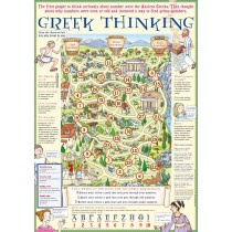 Greek Thinking Poster