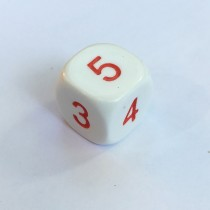 Single Average 16mm Dice