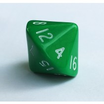 D16 sixteen sided dice single