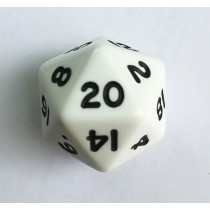 D20 Single 20 sided dice