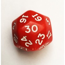 30 sided Dice Single D30