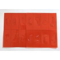 SMP Strip Pattern Stencils
