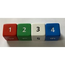 Large 25mm Dice (Pack of 4)