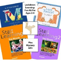 Lockdown Learning Kit - Fun for 2-4 Year Olds