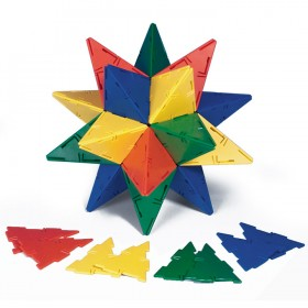 Polydron Isosceles Triangles Set of 60