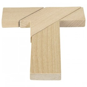 The Tricky T Shaped Wooden Puzzle