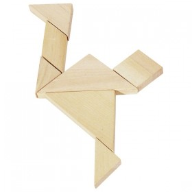 The Tangram Wooden Puzzle
