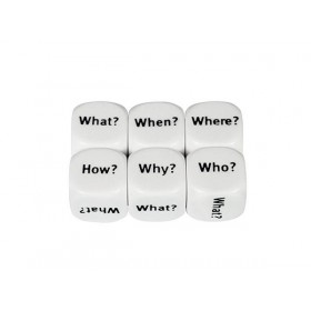 Dice Interrogative 16mm (Set of 5)