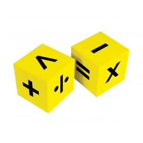 Giant Operations Dice: 50mm 6 Face Foam