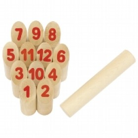 Number Kubb - the Viking Number Game