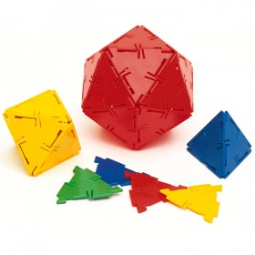 Polydron Equilateral Triangle Set of 100