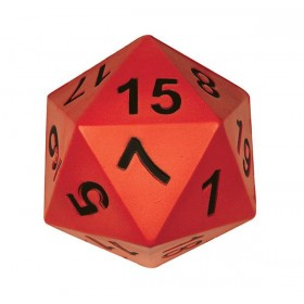 Giant D20 Dice 150mm 20 Face Number Foam Moulded