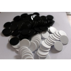 Black and White Counters (100 of each)
