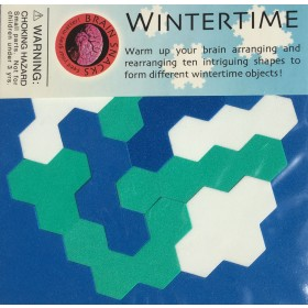 Wintertime Tessellation Puzzle
