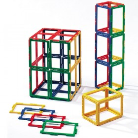 Polydron Frameworks Rectangles Set of 50