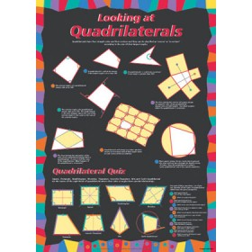Looking at Quadrilaterals Poster