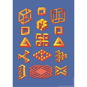 Impossible Geometry Poster