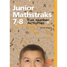 Junior Mathstraks 7-8 Fun Number Activities