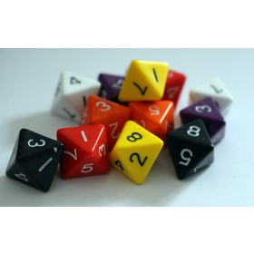 8 sided Dice (Pack of 12)
