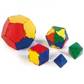 Polydron Platonic Solids Set (50 pieces)