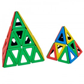 Magnetic Polydron Isosceles Triangles Set