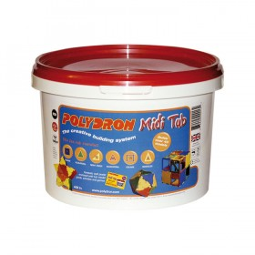 Polydron Midi Tub (Age 5+) - a great 80 piece building starter set