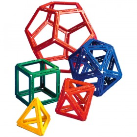 Polydron Frameworks Platonics Solids Set (50 pieces)