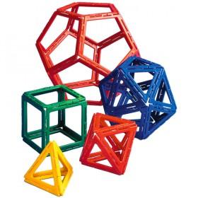 Polydron Frameworks Platonics Solids Set (50 pieces)