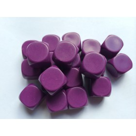 Blank Dice pack of 20 Re-writeable Purple