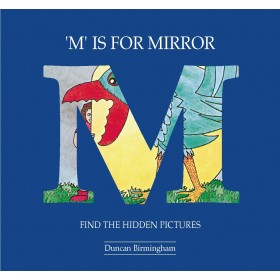 M is for Mirror: Find the Hidden Pictures