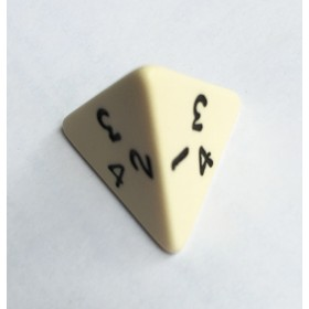 4 Sided Single Dice