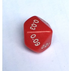 Decimal Dice - 10 Sided 0.00 - 0.09