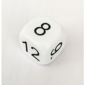 Digit Dice - single numbered 7-12