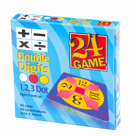 24® Game Double Digits (48 Card Pack)
