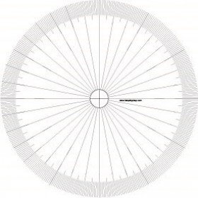 Tarquin Empty Protractors - Pack of 10 with Teaching Resources