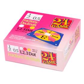 24® Game Fractions/Decimals (96 Card Pack)